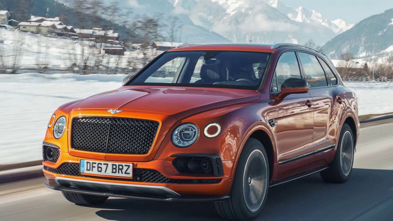2019 Bentley Bentayga V8 Suv First Drive Review With Subtitle
