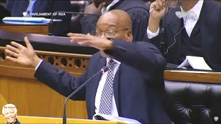Chaos In Parliament | Bantu Holomisa vs Jacob Zuma On CPS & NET1