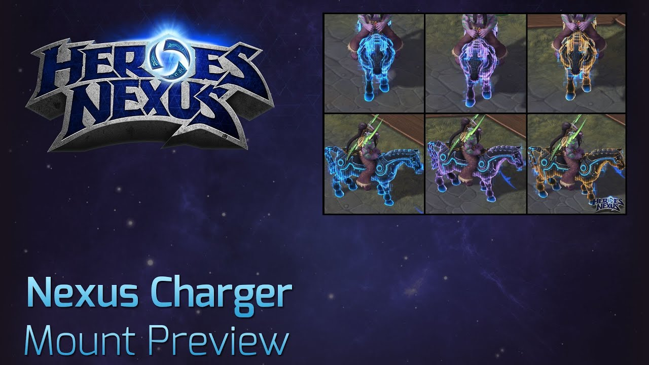 Alpha Mount Spotlight Nexus Charger Blizzcon 2014 Ticket Reward