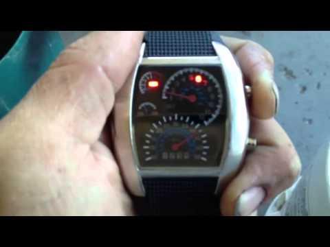 favolook digital watch instructions