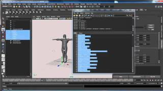 Run Script In Maya