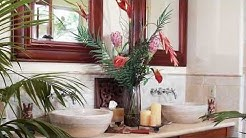 Beautiful Amazing Tropical Bathroom Decor Ideas Solution  Ideas