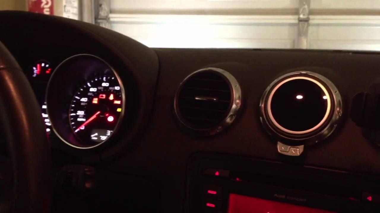 2010 Audi Tt Boost Gauge - Shadow Pro   Like Defi