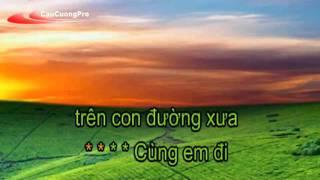 Tinh yeu mang theo Karaoke nhat tinh anh CaoCuongPro YouTube