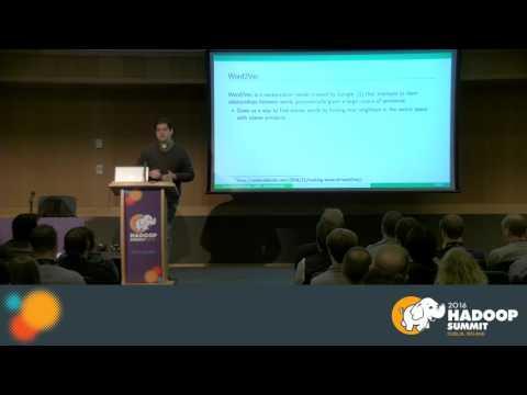 Using Natural Language processing on non textual data