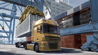 ПУТЬ В ЭСТОНИЮ Euro Truck Simulator 2.  (КОПИМ НА ПЕРВЫЙ TRUCK) #6 (руль logitech g29)