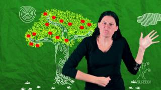 Gambar cover The Giving Tree in American Sign Language