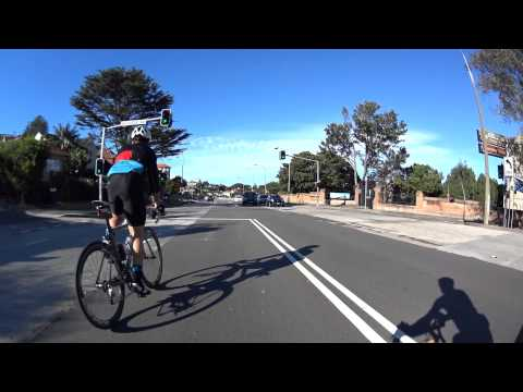 Cycling Sydney's Eastern Suburbs: Bronte, Bondi, Vaucluse, Rose Bay, Double Bay and back.