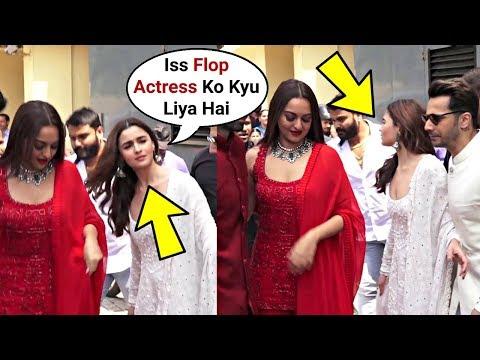 Alia Bhatt Ignores Sonakshi Sinha At Kalank Teaser Trailer Launch
