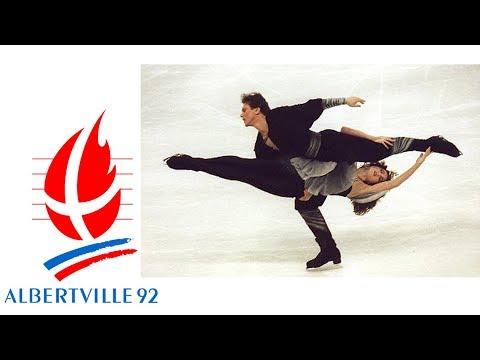 1992 Winter Olympics - Ice Dance - Free Dance