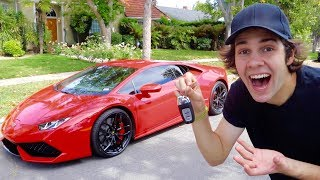 HE SURPRISED ME WITH A LAMBORGHINI!!