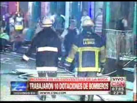 Ordenan al gobierno dar subsidios a los afectados por el incendio en La Boca