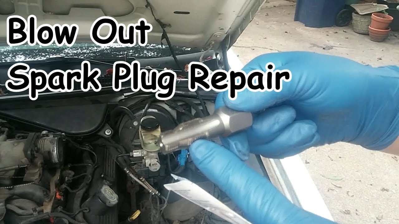 Repairing a Blown-Out Spark Plug Using the Save-a-Thread HeliCoil