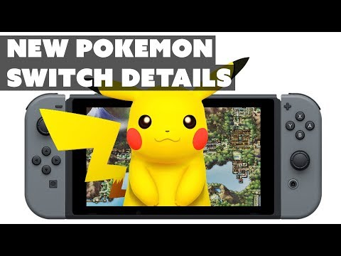 New Pokemon Switch Details! - The Know Gaming News