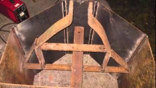 budowa balastu do ciągnika 600kg