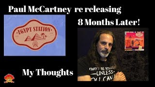 Baixar Paul McCartney Releasing Egypt Station....Again! My Thoughts