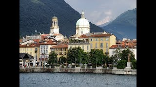 """... this lovely lakeside town on lago maggiore is called """"the garden the lake"""". it has a spectacular botanical tha..."""