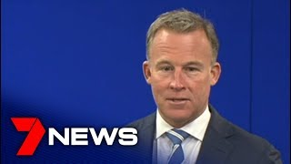 Tasmanian Premier Will Hodgman Attends A Media Conference To Resign | 7news