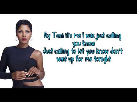 Toni Braxton - Just Be A Man About It (karaoke)