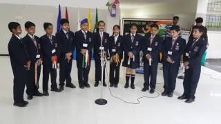 Beautiful Patriotic Song on Republic Day By School Choir Of M.M International School Karnal