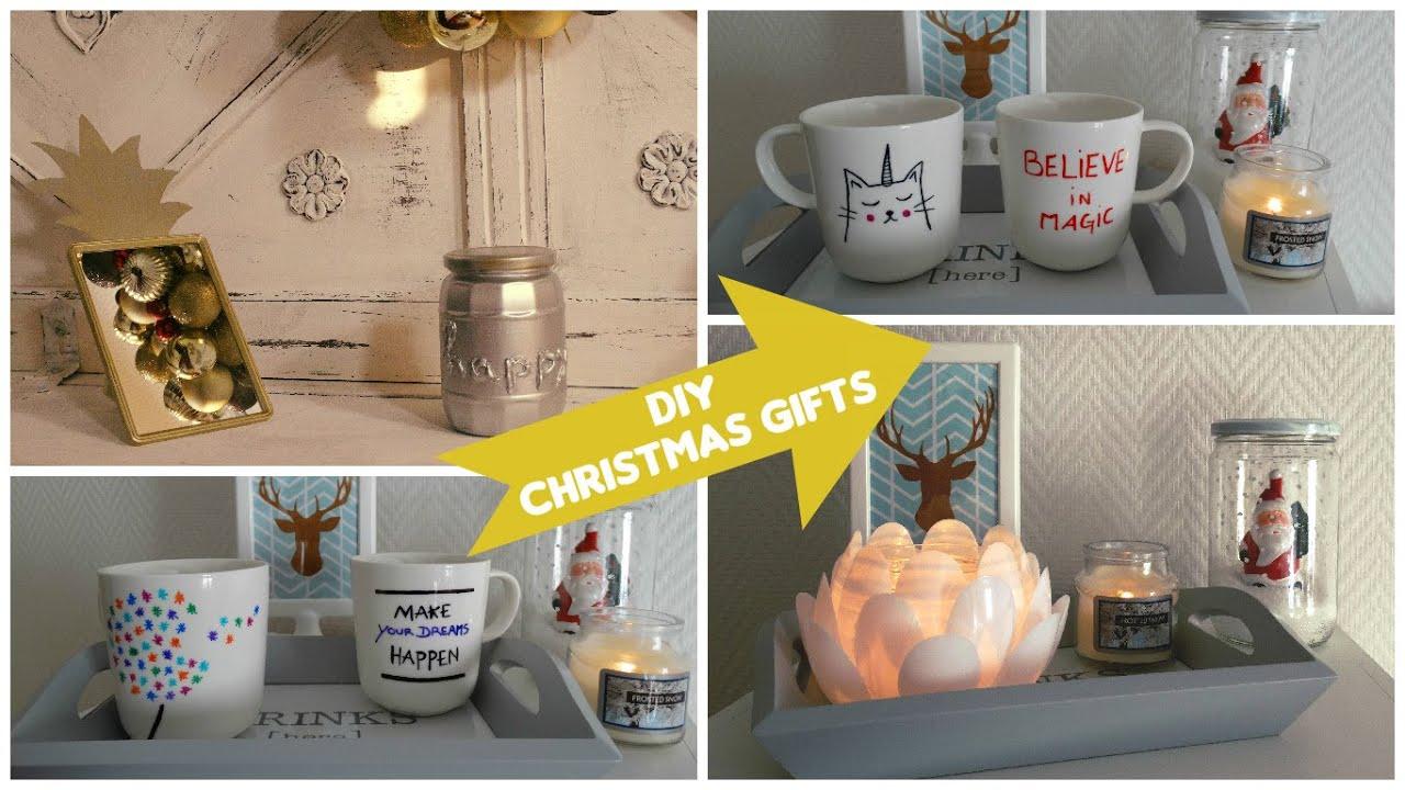 Idée Cadeau Anniversaire A Faire Soi Meme intérieur ✂ idées cadeaux à faire soi-même / gifts diy - room decor - youtube