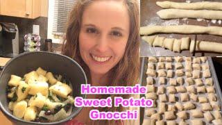 Weekend Vlog March 15 - Homemade Vegan Sweet Potato Gnocchi