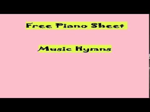 Free Piano Sheet Music Hymns