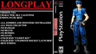Video Resident Evil (PlayStation) - (Longplay - Jill Valentine) download MP3, 3GP, MP4, WEBM, AVI, FLV Januari 2018