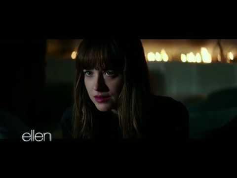 Fifty Shades Darker clip shown on Ellen