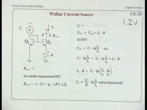 Analog Integrated Circuits (UC Berkeley) Lecture 12