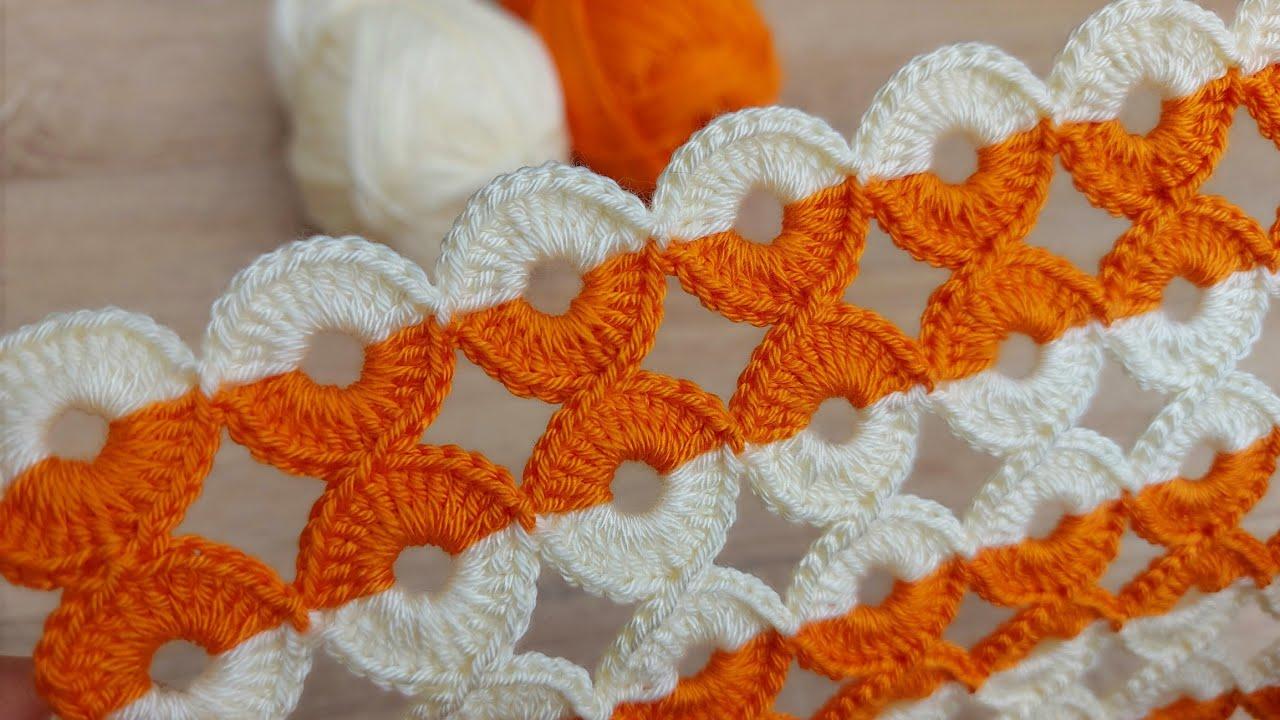 crochet very easy ring model 🥰 tığ işi yapımı kolay halkali örgü  modeli