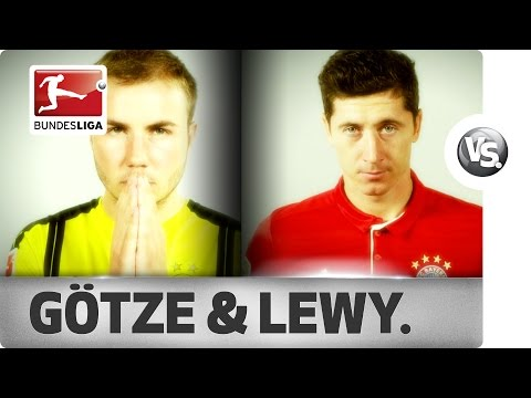 Robert Lewandowski & Mario Götze - Best Link-Up Play Together