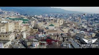 FEZ  ( Medina ) - MOROCCO - AERIAL CINEMATIC SHOTS - BY DRONE REVEAL