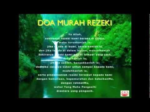 Doa Mohon Murah Rezeki - YouTube