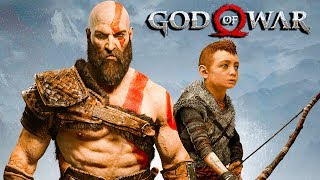 "GOD OF WAR 4 Pelicula Completa Español HD 1080p | El Hijo de Kratos ""Atreus"" (God of War 2018)"
