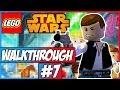 LEGO Star Wars Walkthrough Ep.7 w/Angel - Death Star!