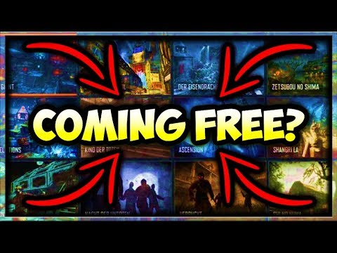 All BO3 Zombies Maps COMING FREE To BO4 Zombies!? (Black Ops 4 Zombies  Chronicles Free DLC 5)