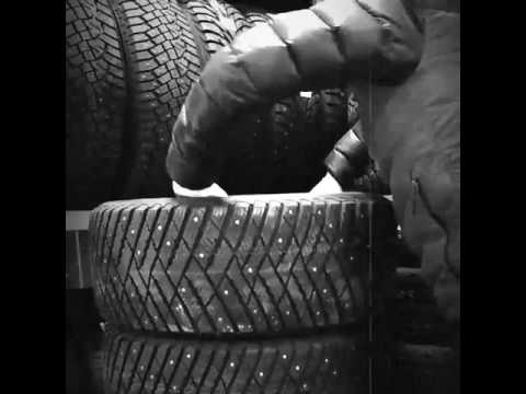 Поуши в работе - обзор внутри - Шины Goodyear Ultra Grip Ice Arctic на AudiQ7