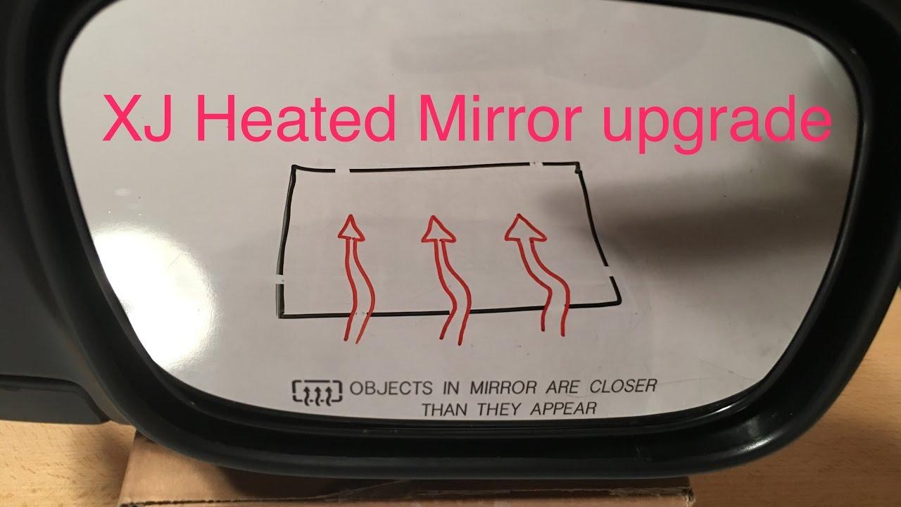 '97-'01 jeep cherokee xj heated mirror upgrade