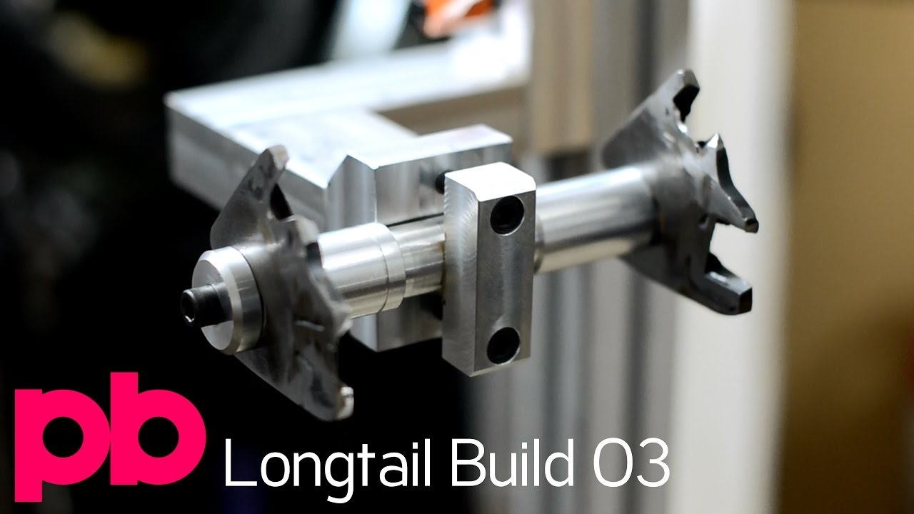 Longtail Bicycle Frame Build 03 - Machining BMX Dummy Axle and V ...