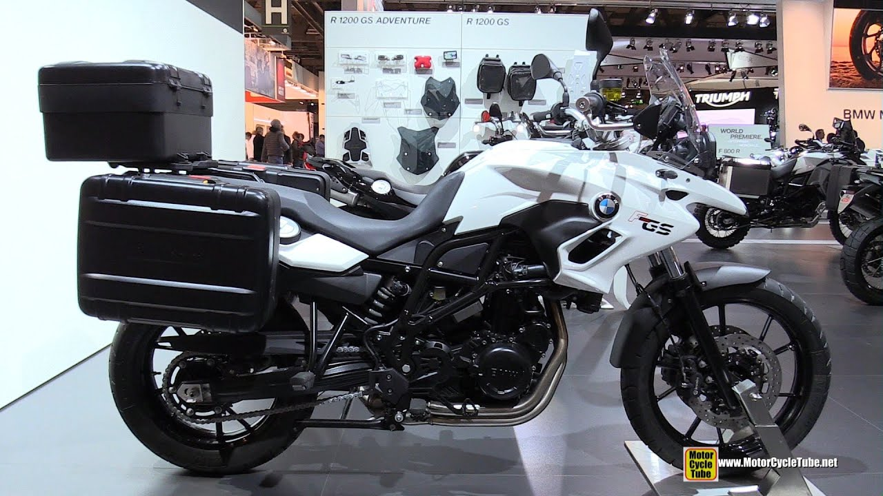 2015 bmw f700 gs low seat - walkaround - 2014 eicma milan