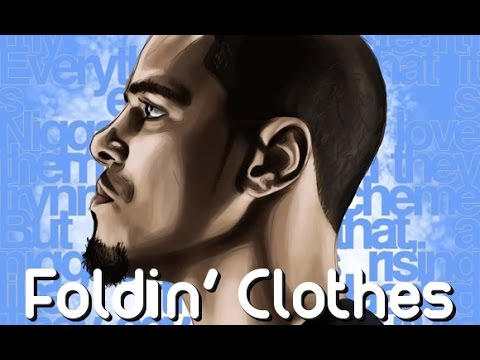 J Cole - Foldin Clothes [LYRICS HQ][Explicit]