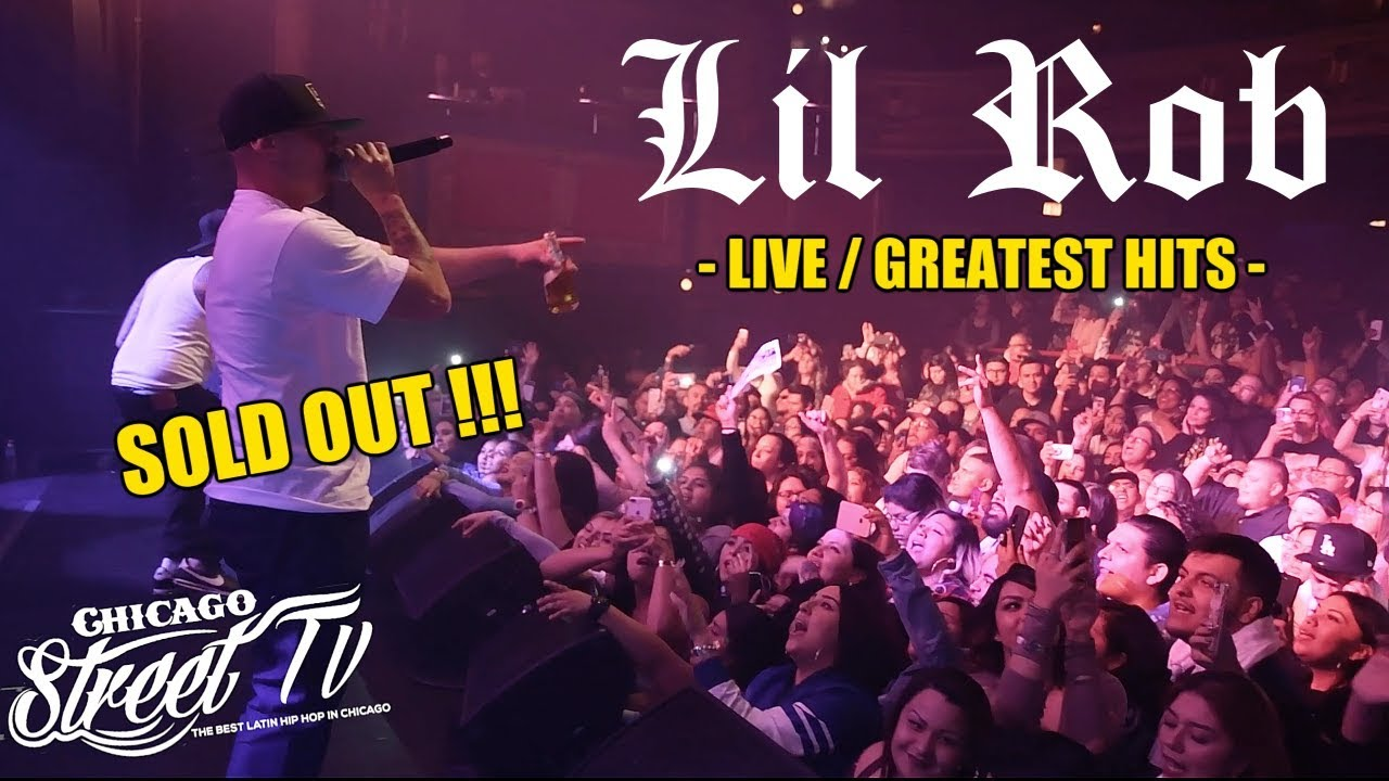 Lil Rob Performing His GREATEST HITS LIVE!!! [Raw Footage] CHICANO RAP 2019