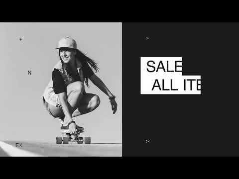 動画制作サンプル - スタイリッシュなスケートボードブランド | 動画編集の外注・依頼