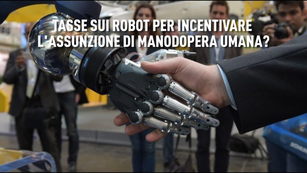 PTV News - 06.11.18 - Tasse sui robot per incentivare l'assunzione di manodopera umana?