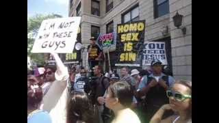 CHICAGO PRIDE PARADE HOMO SEX IS SIN