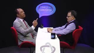 Dr. Jomateleno, no programa COMEÇO DE CONVERSA com  Eugênio Gomes.