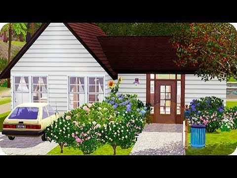 The Sims 3 || House Build || 4 Ocean Parkway (Starter Home)