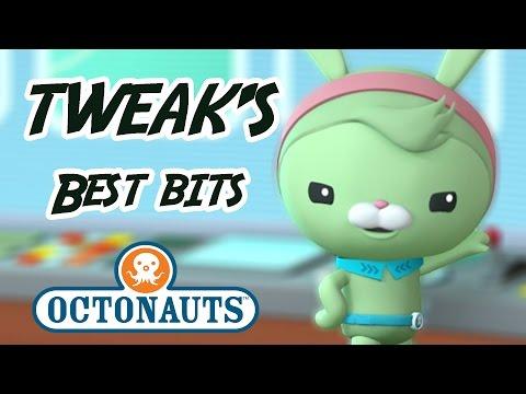 Octonauts - Tweak Bunny | 60+ minutes | Character Best Bits