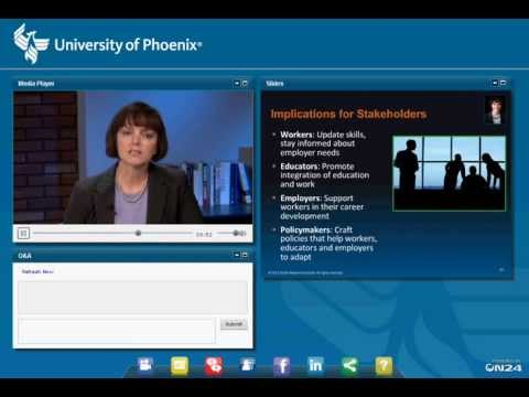 The Future of Work Panel/Webinar moderated by Dr. Tracey Wilen-Daugenti